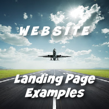 Landing Page examples for marketing your services online