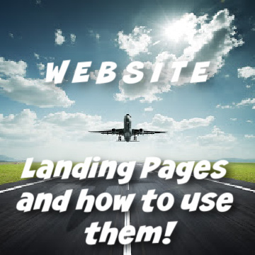 What is a website landing page and how to use them by Houston Wen Designer